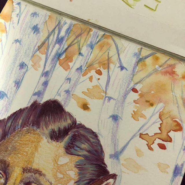 Arrière-plan réalisé avec des encres colorées
